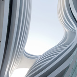 Galaxy Soho, Beijing, China by Zaha Hadid Architects; Photo: Iwan Baan