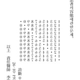 Yi Sang, Crow's Eye View, Poem No. 4, 1934; typeset by Sulki and Min, 2014