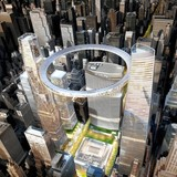 Skidmore Owings & Merrill's proposal for new Grand Central Terminal, New York image courtesy SOM.
