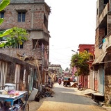 Informal settlement in Cuttack, India. Photograph courtesy of Subhash Chennuri (report co-author).