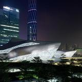 Shortlisted: Guangzhou Opera House, Guangzhou, China by Zaha Hadid Architects (Photo: Iwan Baan)
