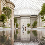 Gustafson Guthrie Nichol: The Kogod Courtyard at the Smithsonian's Reynold Center for American Art and Portraiture, Washington, D.C., 2007. Design architect: Foster + Partners; project architect: SmithGroup. Horticultural advisor: Dan Hinkley. Photo: Foster + Partners