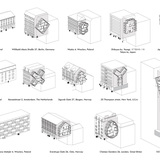From the Live between Buildings project statement: Various examples showing the possible typologies and available interesting building gaps worldwide.
