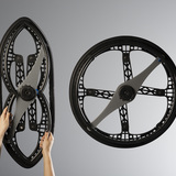 Transport Category Winner: MORPH FOLDING WHEEL, Designed by Vitamins for Maddak Inc.