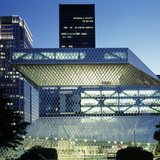 Seattle Central Library, in Seattle, Washington, by OMA / LMN – Rem Koolhaas and Joshua Prince-Ramus (Partner in Charge). Image courtesy of the MCHAP.