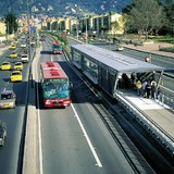 The Transmilenio in Bogota, Colombia picks up passengers every 10 seconds, transporting 1.6 million per day. In The New York Times, SPUR editor Allison Arieff discusses the need for innovation in American public transportation.