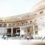 The Myrtle Garden by graft lab architects and penda. Image courtesy of penda.