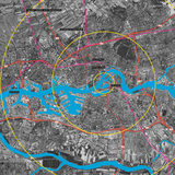 Map of Rotterdam. © OMA