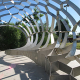 NEW HARMONY GROTTO in Houston, Texas by METALAB