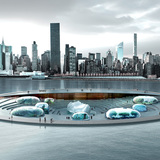 Architects envision a new public aquarium and waterfront park for NYC