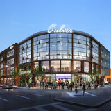 Design Concept Award: 9300 Culver Blvd. Mixed Use Development. Architect: Ehrlich Architects. Rendering Credit: Bezier CG