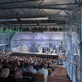 South Winner 2012: Garsington Opera Pavilion, High - Wycombe Snell Associates (Photo: Dennis Gilbert)