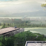 Eco spine park observatory © West 8 urban design & landscape architecture