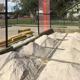 SANDBOXING in Dallas, TX by DSGN AGNC (Quilian Riano, Designer), New Cities Future Ruins (Gavin Kroeber, Curator), Ash Studio (Fabrication)