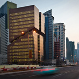 Platinum A' Design Award Winner: Golden West Bay Office Tower in Doha, Qatar by Marwan Zgheib