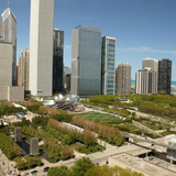 Millennium Park in Chicago, Illinois, by Edward K. Uhlir, FAIA. Image courtesy of the MCHAP.