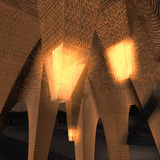 Stalactite by APTUM Architecture - Warming Huts v. 2014 competition entry. Image: APTUM.