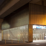 European Union: Metrostation Kraaiennest, Amsterdam by Maccreanor Lavington. Photo: Luuk Kramer