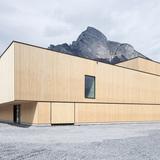 Sport Center Sargans, Sargans, Switzerland, Blue Architects and Ruprecht Architekten. Photo credit: entrant of the 2014 Wood Design Awards.