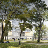 View from Nobel Garden ©David Chipperfield Architects