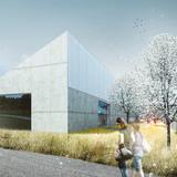 Exterior view, Pavilion (Image: CHYBIK+KRISTOF AA)