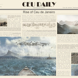 First Place: Ceu de Janeiro by Donghua Chen