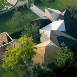 Floriade 2012 Estonian pavilion Koda in Venlo, The Netherlands by KUU architects
