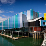 Voyager Maritime Museum in Auckland, New Zealand by Bossley Architects