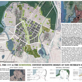 """2nd Next Generation Prize: Town plan revitalization and urban development, Navi Mumbai, India by Mishkat Irfan Ahmed, University of California, Berkeley, United States/India: """"The Village, the City and the Ecosystem: context-sensitive design at Navi Mumbai's Urban Edge"""", a study for..."""