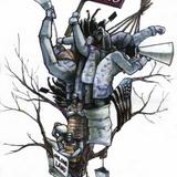 Occupy Oakland art by Marlin