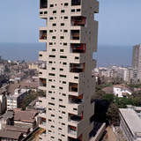Kanchanjunga Apartment tower in Mumbai, via dome.mit.edu.