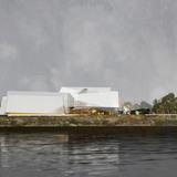 River elevation (Image: Saucier + Perrotte, Architectes)