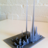 "3D printing done by ""Draft Print 3D"" Toronto-based company"
