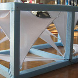 Model for the design change to find the right position of the membrane sails