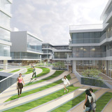 Court yard view (Image: LYCS Architecture)