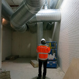 massive and snaking HVAC ducts A.D.Morley & J.A.Wong