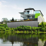 Tropical Contemporary House by WCParchitect