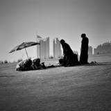 'Ṣalāt', Museum of Islamic Art park, Doha. © Pygmalion Karatzas