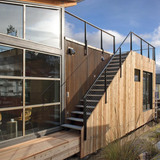 Portage Bay Floating Home in Seattle, WA by Kim Mankoski/Ninebark Design Build LLC