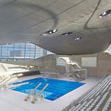 London: London Aquatics Centre by Zaha Hadid Architects. Photo: Hufton + Crow