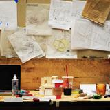 Justins desk via design_buildLAB