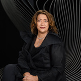 Zaha Hadid was recently named as the 2016 recipient of the RIBA Royal Gold Medal for Architecture. Not surprisingly, she's the only female architect to win the prestigious award in her own right. Photo: Mary McCartney.