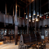 Mackintosh Library before the fire. Photo credit Alan McAteer.