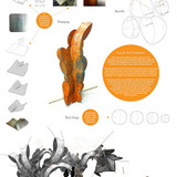 Honorable Mention - Continuing Research: CURVED DIE | CREASED STRUCTURE by Brigette Borders and Justin Fabrikant