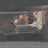 Drawing of Bloomberg Center. Circulation and Environmental Systems. © Morphosis Architects