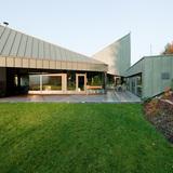 Villa in Hvozdna, Czech Republic by Olgoj Chorchoj; Team Member: Katerina Hroncova (Jurakova)