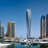 CTBUH Best Tall Buildings 2014 - Middle East & Africa regional winner: Cayan Tower, Dubai, UAE. Photo © Tim Griffith
