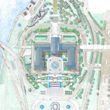 Rendered Plan of PMA. Image: OLIN