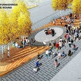 Slide from James Corner Field Operations Nicollet Mall redesign presentation