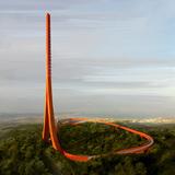 IND+Powerhouse Company's Çanakkale Antenna Tower. Image by MIR